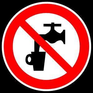 Mögliche Trinkwasserverunreinigung