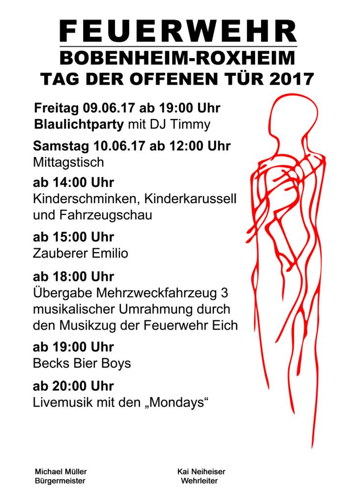 Programm Tag der offenen Tür