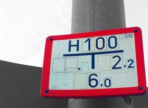 Hydrantenschild / Bild: Glaser