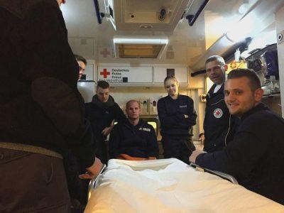 Innenansicht des Rettungswagen / Bild G. Mikulla