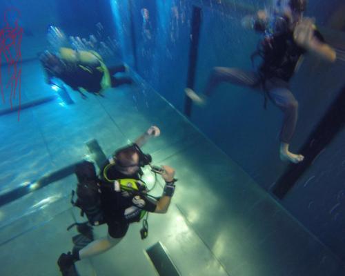 Bewegung im Wasser / Bild: Bergmann